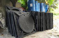 Sản xuất cung cấp Nắp hố ga – Song rác Composite cho dự án cải tạo tuyến ven đê Từ cầu Thanh Trì – Bát Tràng – Huyện Gia Lâm – Hà Nội